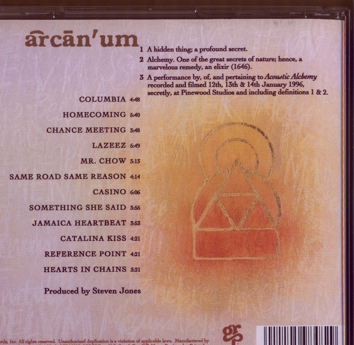 Arcanum (back cover)