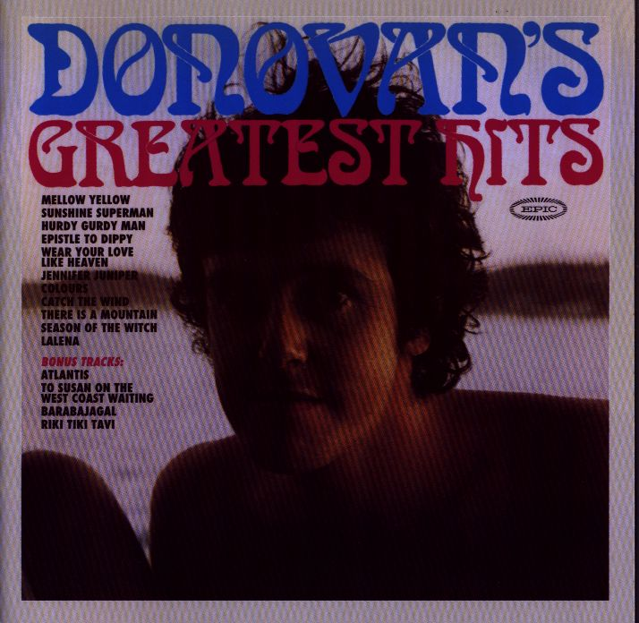 Donovan's Greatest Hits (front cover)
