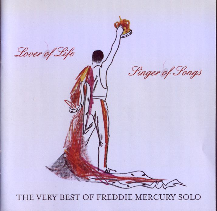The very best of Freddie Mercury solo (front cover)
